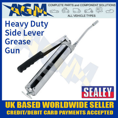 sealey, ak44, side, lever, grease, gun