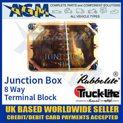 rubbolite, 111/01/01, junction, box, terminal, block