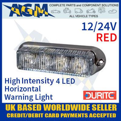0-442-15, 044215, red, high, intensity, led, horizontal, warning, light, 12v, 24v