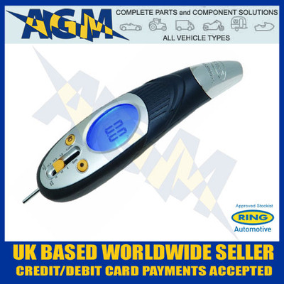 Ring, RTG6, Digital Tyre Pressure Gauge,