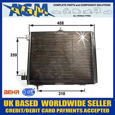 Air Conditioning Condenser Radiator for Ford Focus (2004 on)