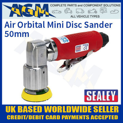 gsa70, sealey, air, orbital, mini, disc, sander