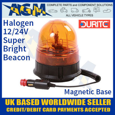 0-444-75, 044475, 12v,24v, rotating, halogen, beacon, magnetic, base