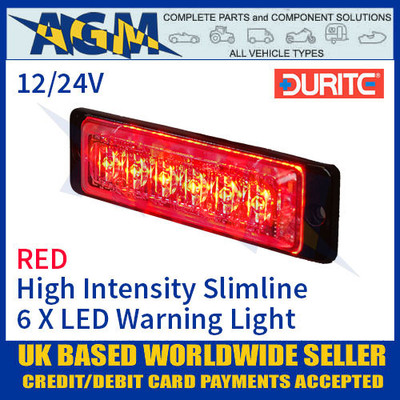 Durite 0-441-05 Red LED Warning Light