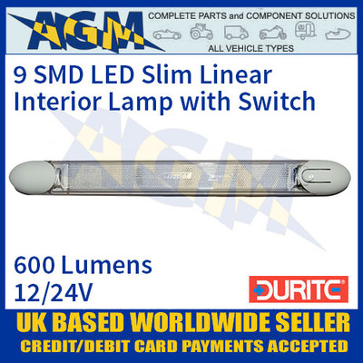 Durite 0-668-81 9 SMD LED Slim Linear Interior Lamp