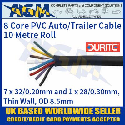 Durite 0-998-01 8 Core PVC Auto/Trailer Cable