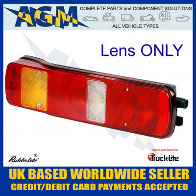 Trucklite / Rubbolite 88224 Volvo Rear Lens for Lamp M463
