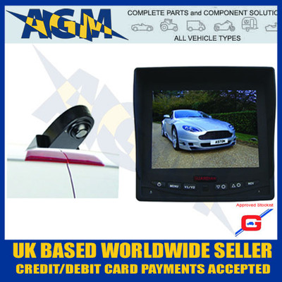 CCTV18A, Colour, CCTV System, Reverse, Parking, Camera, Guardian, DVD, DVR, 12V, 24V, Night Vision
