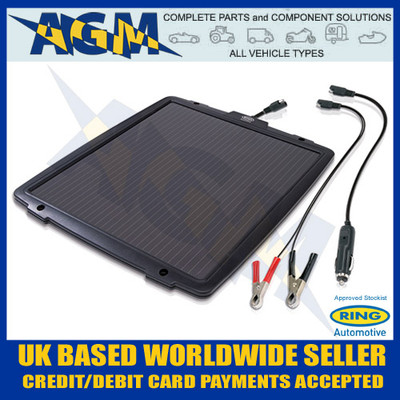 Ring Automotive RSP600 6W 12V Solar Panel