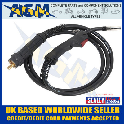 Sealey MIG/N315 Mig Torch 3 Mtr Euro Connection MB15