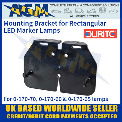 Horizontal mounting bracket for 0-170-70, 0-170-60 & 0-170-65 lamps.