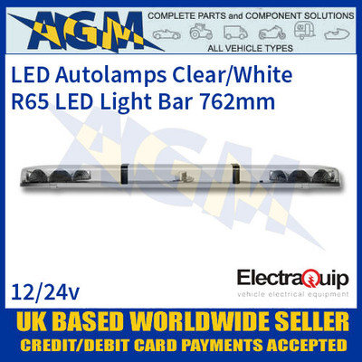 EQLB362AC LED Lighbar Clear/White Twin Light Module 3ft/915mm
