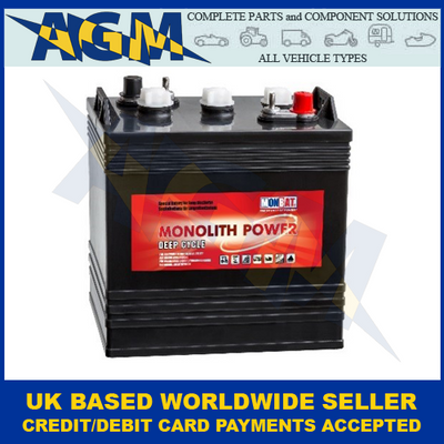 Monolith Power MP 6V-US Deep Cycle Semi Traction Flooded Battery