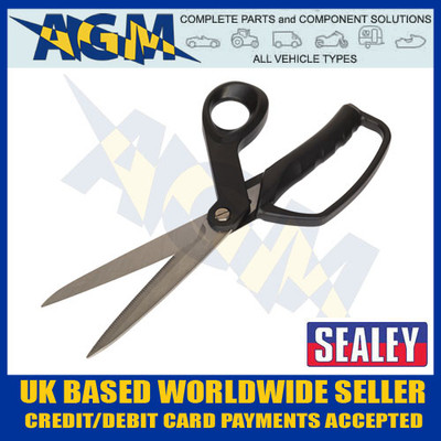 sealey, ak8524, heavy, duty, shears, scissors