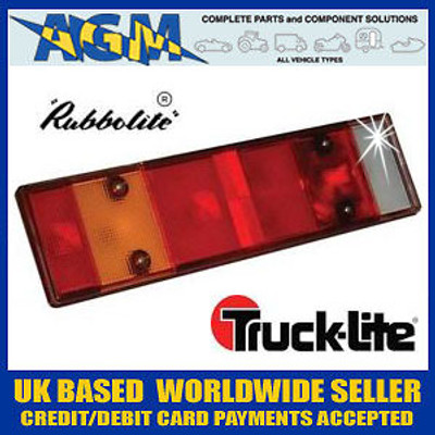 Rubbolite/Truck-Lite Genuine 6311A Lens for 360 Series Rear Lamp