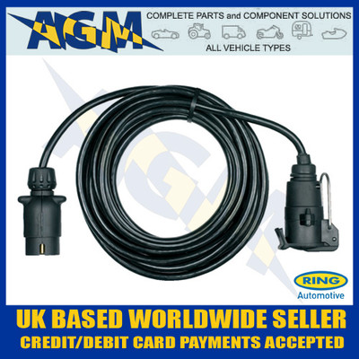 Ring RCT806 12N 6 Metre Trailer Board Extension Lead