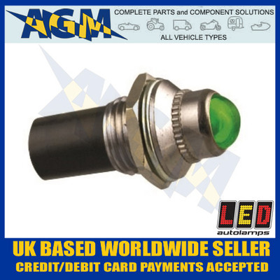 led, autolamps, plg24, green, 24v, pilot, light
