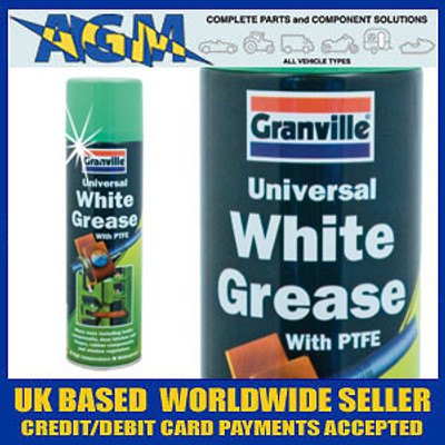 Granville 0209 White Grease with PTFE 500ml Aerosol