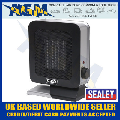 sealey, ch2013, 1400w, ceramic, fan, heater