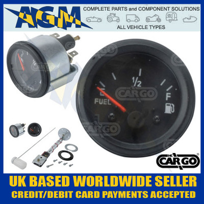 cargo, 160701, 12v, fuel, gauge, adjustable, sender, 52mm