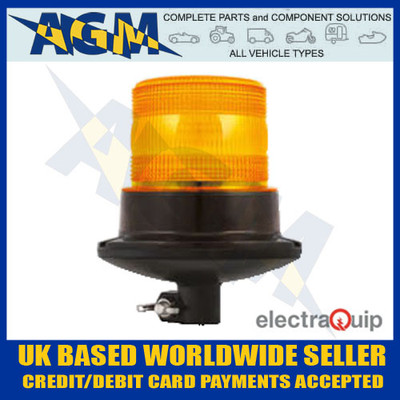 electraquip, eqpr10abm-dm, din, mounted, r10, led, amber,  beacon