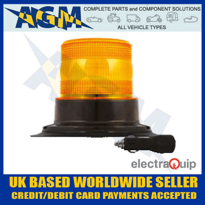 electraquip, eqpr65abm-mm, magnetic, mount, r65, led, amber, beacon