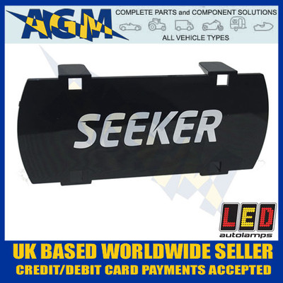 led, autolamps, seeker10s, black, seeker, driving, light, lens, cover