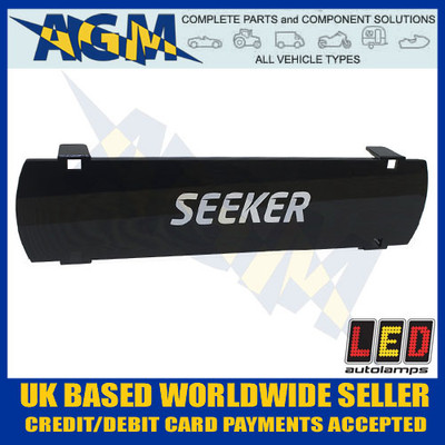 led, autolamps, seeker20s, black, seeker, driving, light, lens, cover
