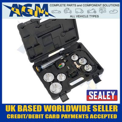 Sealey CV0011 Commercial Vehicle Cooling System Pressure Test Kit
