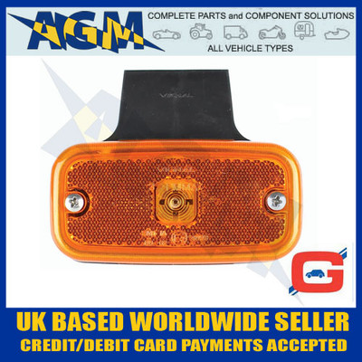guardian, ml32, amber, led, side, marker, lamp, bracket, fly, lead, 12v, 24v