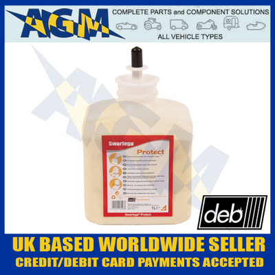 deb, swarfega, spr1lc, protect, 1 ltr, refill, ssc1each, workshop, garage, skin, safety, board