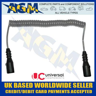 universal, components, ec22u, 7, core, retractable, sheathed, 3m, cable, socket