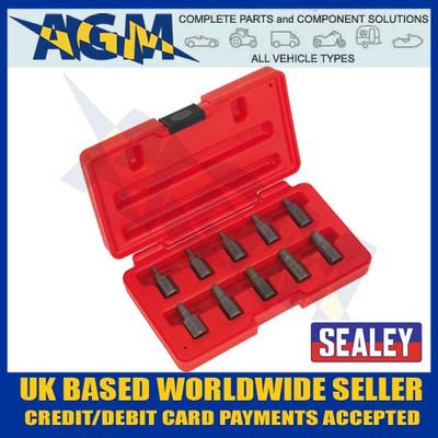 sealey, ak8181, spline, screw, extractor, set