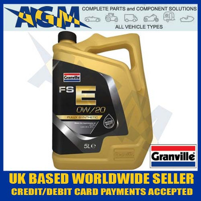 granville, 0694, fse, 0w/20, fully, synthetic, engine, oil