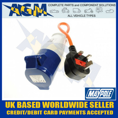 Maypole MP374 UK Hook Up Lead 230V