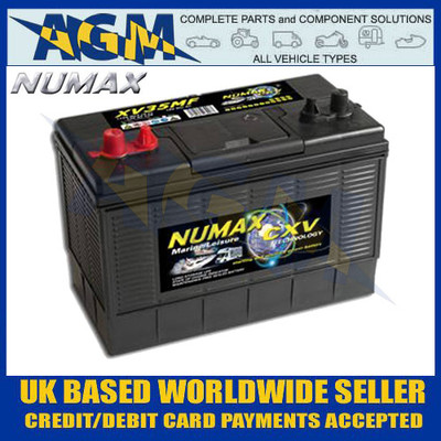 NUMAX CXV Leisure Battery - Sealed Maintenance Free 120AH Deep Cycle Battery