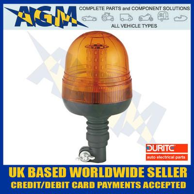 Durite 0-445-24 Multi-Function Amber Flexi Din Mount LED Beacon - 12/24v