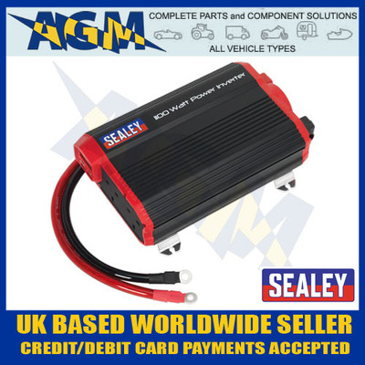 Sealey PI1100 Modified Sine Wave Power Inverter  1100w, 12v