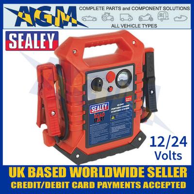 Sealey RS125 RoadStart® Emergency Jump Starter 12/24v 3000/1500 Peak Amps