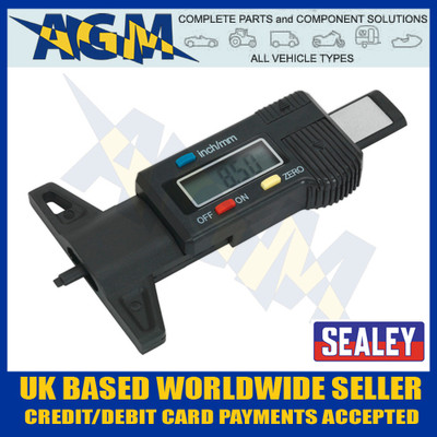 Sealey VS0564 Digital Tyre Tread Depth Gauge