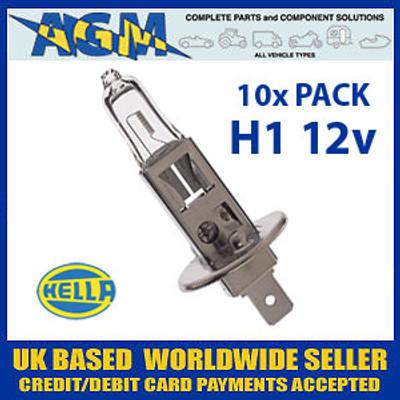 HELLA HB448 12v H1 Halogen Bulb (Pack of 10)