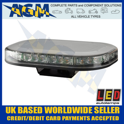Led Auto-Lamps MLB246R10ABM Single Bolt Led Microbar - Super Low Profile, 12/24v