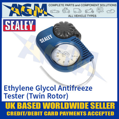 Sealey VS4120 Ethylene Glycol Antifreeze Tester - Twin-Rotor