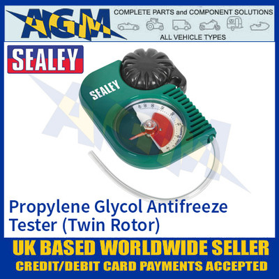 Sealey VS4121 Propylene Glycol Antifreeze Tester - Twin-Rotor
