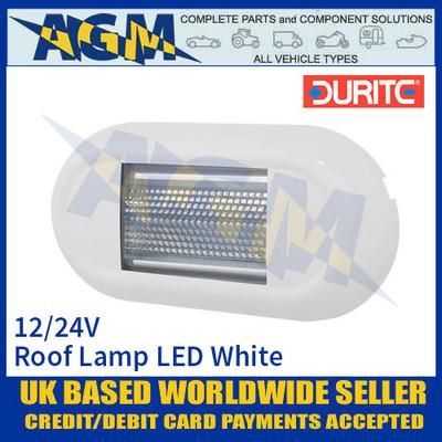 Durite 0-668-67 Roof Lamp SMD LED White, 12/24V, IP67, ECE R10