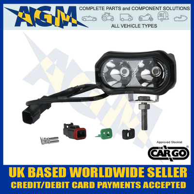 Cargo 172054 Red LED Spot Light/Lamp - Forklift Safety Lamp etc