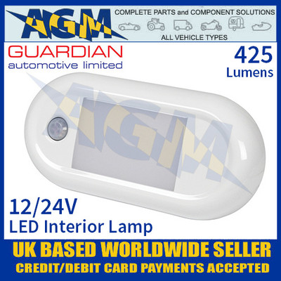 Guardian Automotive INT59 LED Interior Light with PIR Sensor 12/24V