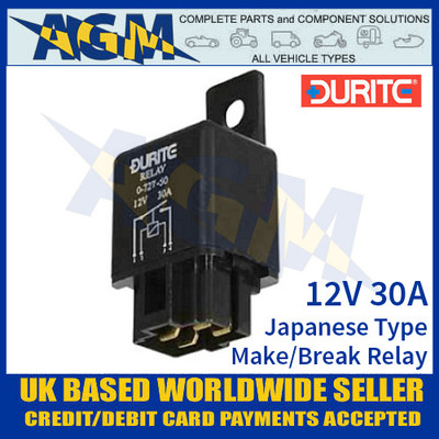 Heavy Duty Make /& Break Starter Relay /& Bracket 12v 70A 4 Pin Relay Pack 10