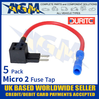 0-376-89 Durite Micro 2 Fuse Tap, Fuse Tap Micro 2 Holder