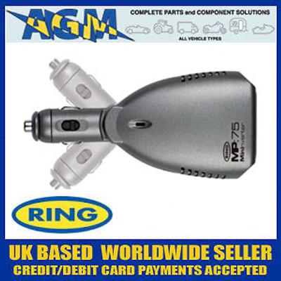Ring 75 Watt Inverter 12v DC Power to Mains 220/240v AC
